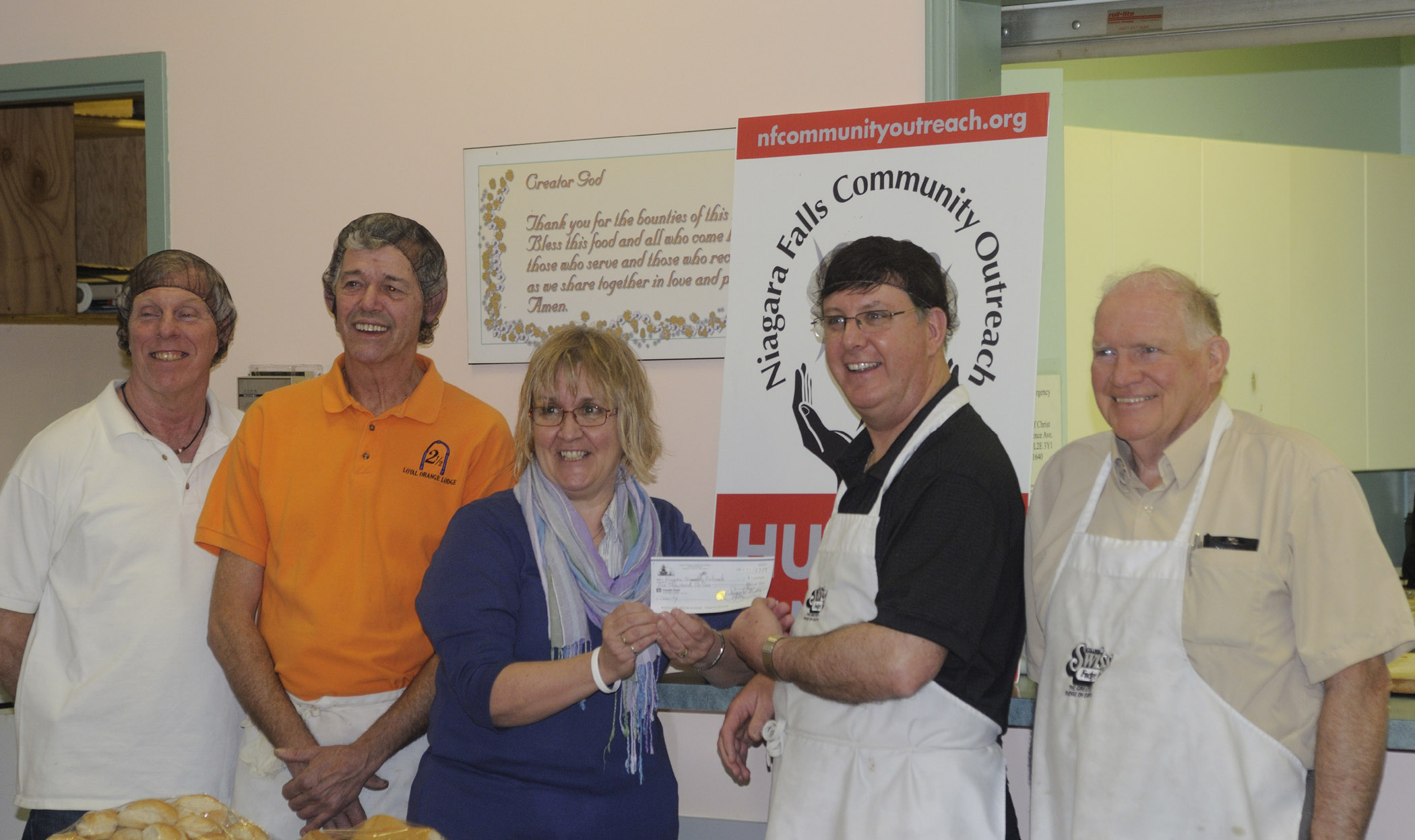 Grand Orange Lodge of Ont. West helps Community
