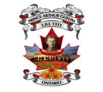 Prince Arthur Guelph L.O.L. 1331